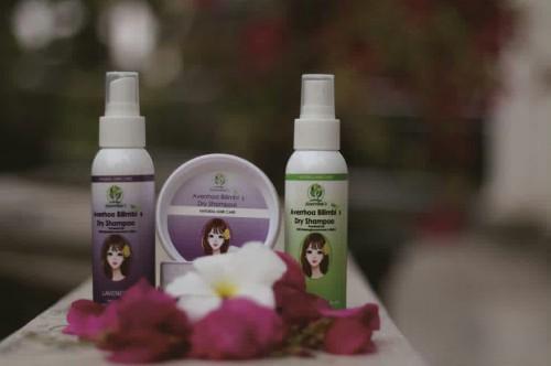 Averrlim's, Averrhoa Bilimbi's Dry Shampoo buatan mahasiswa ABM. (Foto: istimewa)