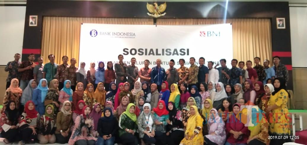 Bank Indonesia Kediri Dan Bni Blitar Edukasi Bansos Non Tunai Bagi Pendamping Pkh Bpnt Dan Agen46 Jatim Times