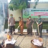 Inkrah, Kejaksaan Negeri Kota Malang Musnahkan Beragam Jenis Barang Bukti