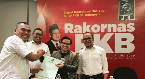 Ketua PKB Muhaimin Iskandar (2 dari kanan) dalam sebuah acara (Ist)