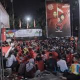 Mimbar bebas yang digelar di kantor DPC PDIP Surabaya