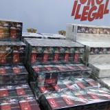Sejumlah produk rokok ilegal alias tanpa dilekati pita cukai yang disita oleh Bea Cukai Malang. (Foto: Nurlayla Ratri/MalangTIMES)