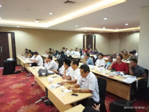 Bidang Tata Ruang DPUPR Kota Malang saat melakukan Sosialisasi (Anggara Sudiongko/MalangTimes)