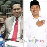 Dua anggota dewan terpilih Riswanto dan Abdul Ghoni