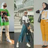 Inspirasi Mix and Match T-shirt untuk OOTD Hijabers yang Lebih Edgy