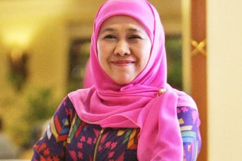 Gubernur Jatim Khofifah Indar Parawansa (media indonesia)