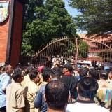 Lagi, Ratusan Kepala Desa Geruduk Kantor Bupati Kediri