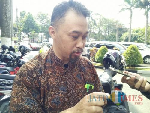 Saksi ahli pengaudit Keuangan dari CV MSA, Ali Irfan (Anggara Sudiongko/MalangTimes)