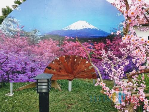 Mau Liburan Ala Jepang Di Blitar Ayo Kunjungi Istana Sakura Jatim TIMES