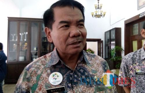 Sekretaris Daerah Kota Malang Wasto (foto: Pipit Anggraeni/ MalangTIMES)