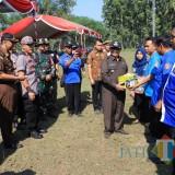 Bupati Blitar dan Dandim 0808/Blitar Pimpin Baksos TMMD di Desa Karangbendo
