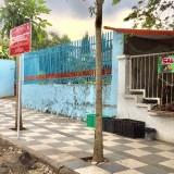 Papan Larangan Zona Merah Tak Digubris PKL