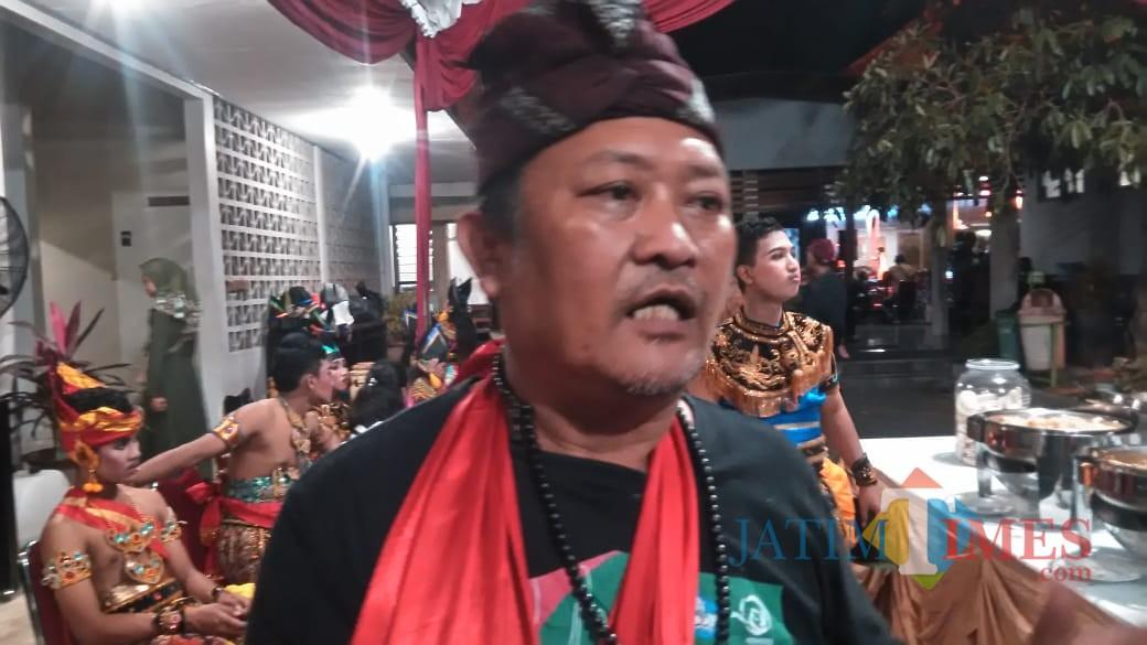Pelaku Budaya,  Endin Didik Handoko (foto : Joko Pramono/Jatim Times)