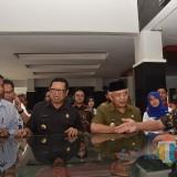 Plt Bupati Malang Sanusi beserta rombongan saat studi replikasi di RSUD dr Iskak Tulungagung (Humas Pemkab Malang)
