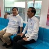 Pertemuan Jokowi dan Prabowo di MRT Lebak Bulus, Jakarta Selatan. (Foto; istimewa)