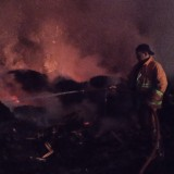 Api Hanguskan Gudang Triplek