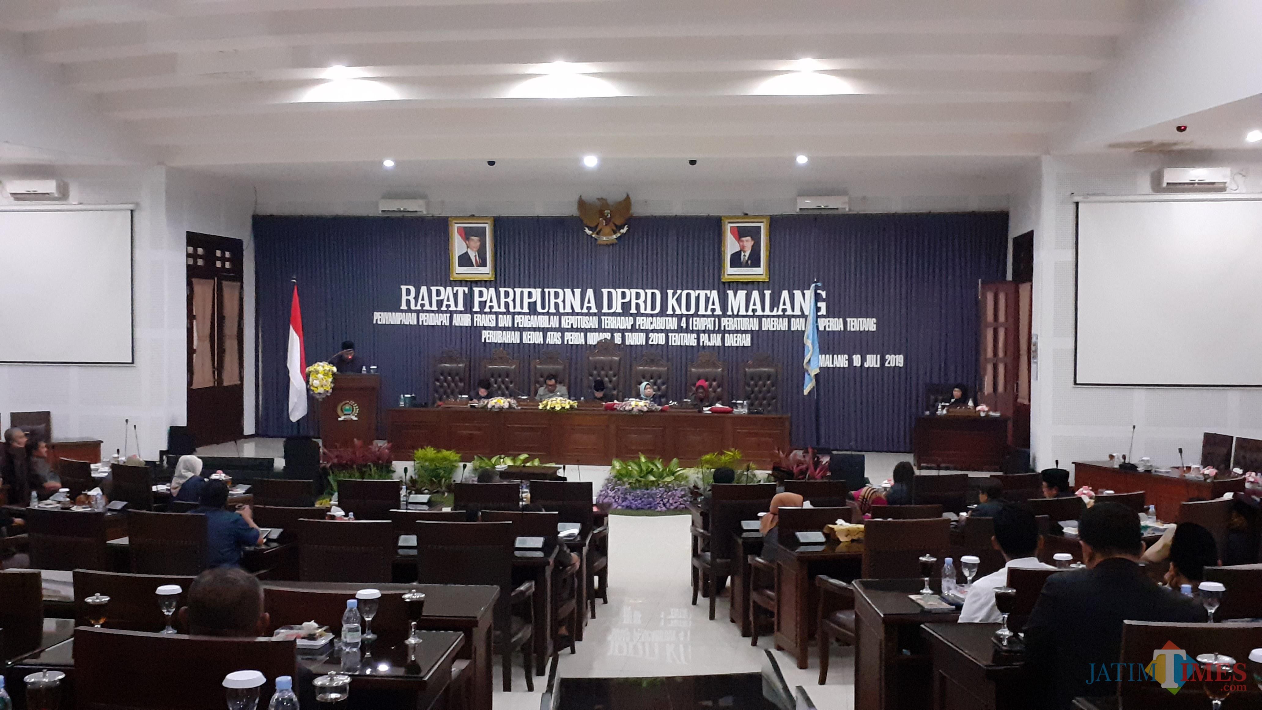 Sidang Paripurna DPRD Kota Malang (Ilustrasi/Pipit Anggraeni/MalangTIMES).