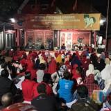 Istighotsah yang digelar di kantor DPC PDIP Surabaya.
