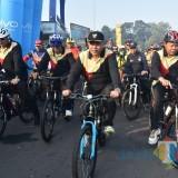 Lewat Gowes, Germas Kabupaten Malang Curi Perhatian Warga Luar Daerah