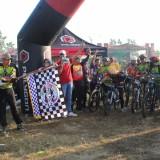 Ribuan Bikers Gowes Bareng Di Fun Bike HUT Bhayangkara Polres Kediri. Foto (Ist)