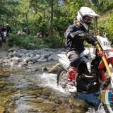 Semarakkan National Honda Roadventure, Komunitas dan Konsumen Honda CRF Jatim Menggelar Touring Trabas Bareng. Foto: (Bambang Setioko/JatimTIMES)