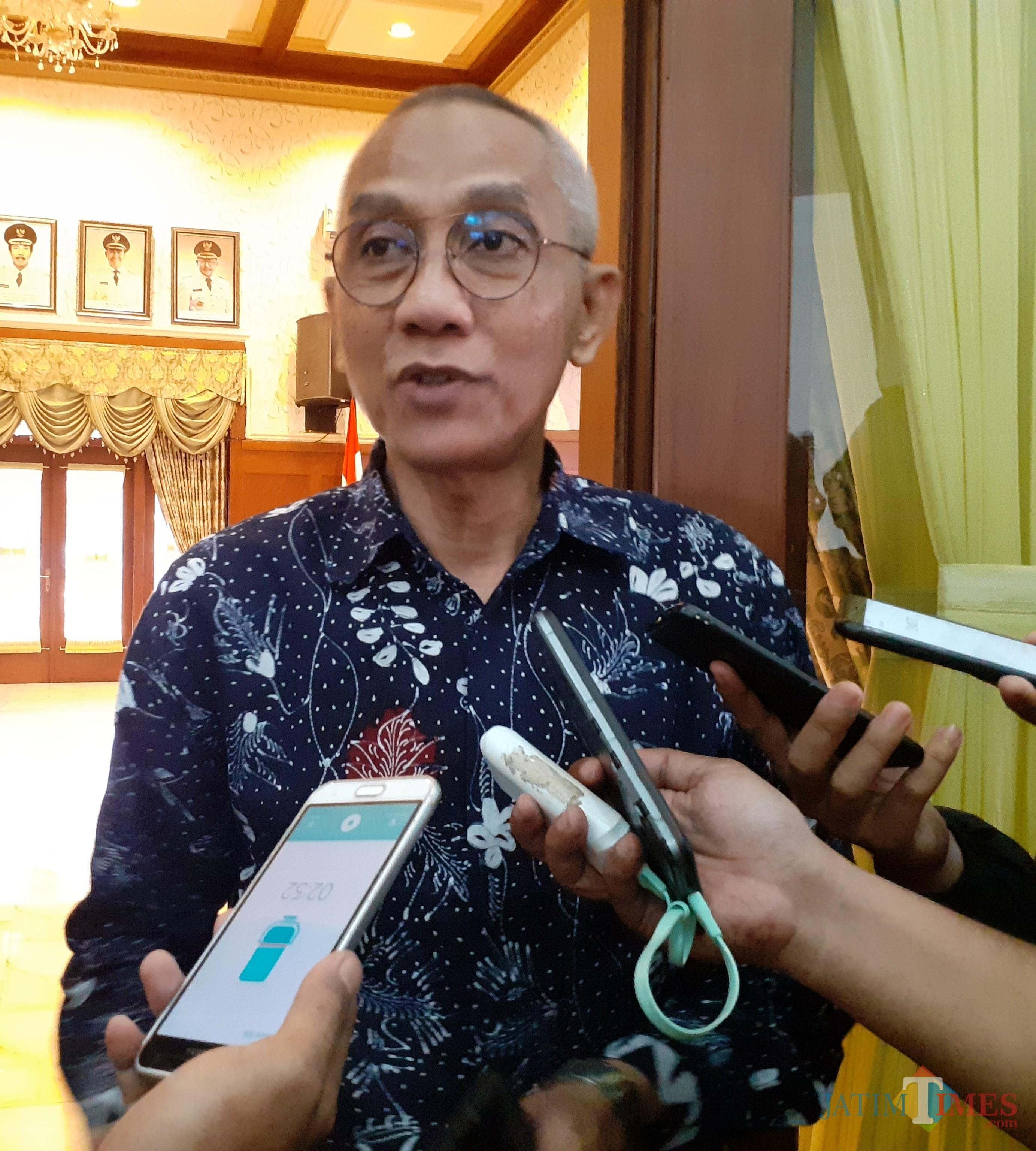 Staf Ahli Kementerian Kominfo RI Heri Abdul Aziz  (Arifina Cahyanti Firdausi/MalangTIMES)