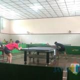 PTMSI Kota Malang saat menggelar kejuaraan antardaerah. (Hendra Saputra)