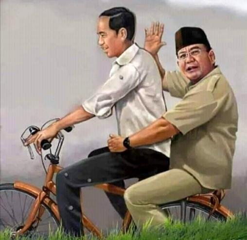 Pertemuan Jokowi-Prabowo mendapat respons pro dan kontra. (Ist)