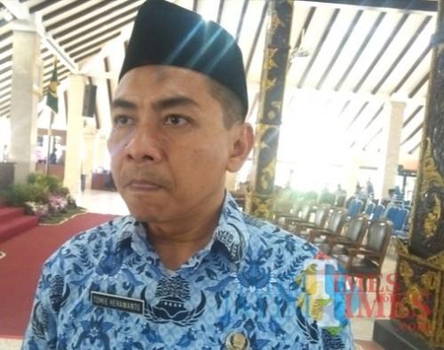 Tomie Herawanto, kepala Bappeda Kabupaten Malang, menyatakan pembangunan KEK Singosari tinggal menunggu rekomendasi Kementerian Perindustrian. (dok MalangTIMES)