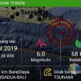 Gempa di Kabupaten Jembrana juga dirasakan masyarakat Situbondo