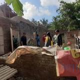 Kondisi bagian belakang rumah Painem di Dusun Krajan Baruu, Desa Wonosobo, Kecamatan Srono