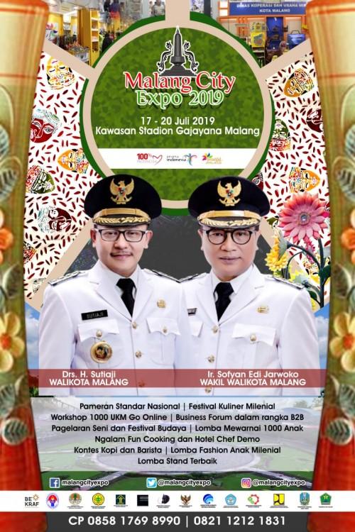 Poster Malang City Expo 2019 (IHumas Pemkot Malang for MalangTIMES).
