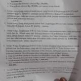 Tata tertib RW 02 Kelurahan Mulyorejo Kecamatan Sukun Kota Malang yang sempat gegerkan publik (istimewa).