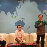 Wali Kota Malamg Sutiaji (berdiri) saat jadi keynote speaker dalam seminar RUU Ekonomi Kreatif di Jakarta. (Humas Pemkot Malang for MalangTIMES).
