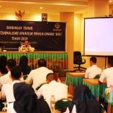 Hafi Lutfi Kepala Dishub Kabupaten Malang saat menghadiri peningkatan kapasitas personel dalam menindaklanjuti visi Indonesia Jokowi (Dishub for MalangTIMES)