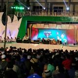 Gus Muwafiq saat berbicara di panggung PIONIR di UIN Malang. (Foto: Zico Bonetti for MalangTIMES)