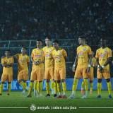Pemain Arema FC ketika akan menjalani pertandingan (official Arema FC)