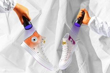Sneakers kreasi terbaru Convers yang bisa berubah warna. (Foto: Istimewa)
