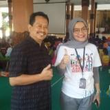 Deputi KPK dan Kabid Dikmas saat berada di lokasi edukasi anti korupsi (Foto :Sony Haryono / SitubondoTIMES)