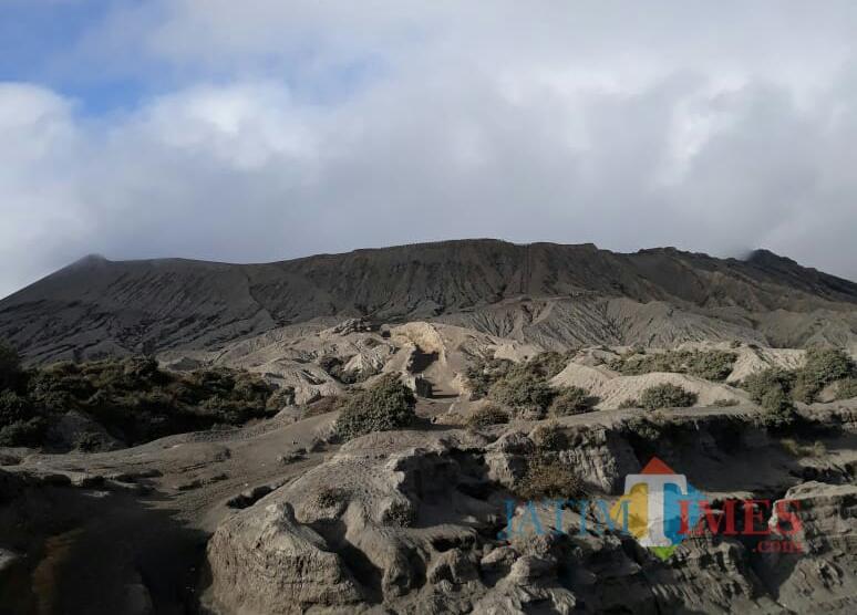 Kondisi terbaru Gunung Bromo, hari ini (20/7/2019). (Foto: BB TNBTS for MalangTIMES)
