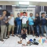 Agus Suyani sesaat setelah ditangkap / Foto : Dokpol / Tulungagung TIMES