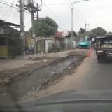 Galian yang membuat warga Karanglo-Singosari tidak bisa mengakses air bersih Perumda Jasa Tirta Kabupaten Malang (Ist)