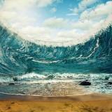Ilustrasi tsunami (Ist)