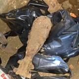 Mortir yang ditemukan (Ist)