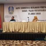 Acara Pembukaan Rapat Koordinasi Kebijakan Penetapan Tarif Dasar/Pajak Pertambangan di Jawa Timur di Banyuwangi (Foto : Moch. R. Abdul Fatah / Jatim TIMES)
