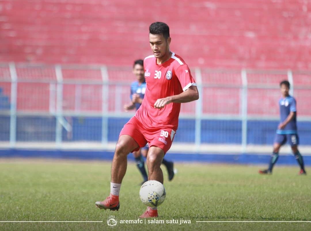 Gelandang muda Arema FC, Muhammad Rafli (official Arema FC)