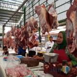 Ilustrasi penjual daging di Pasar Oro-Oro Dowo Kota Malang (Arifina Cahyanti Firdausi/MalangTIMES)