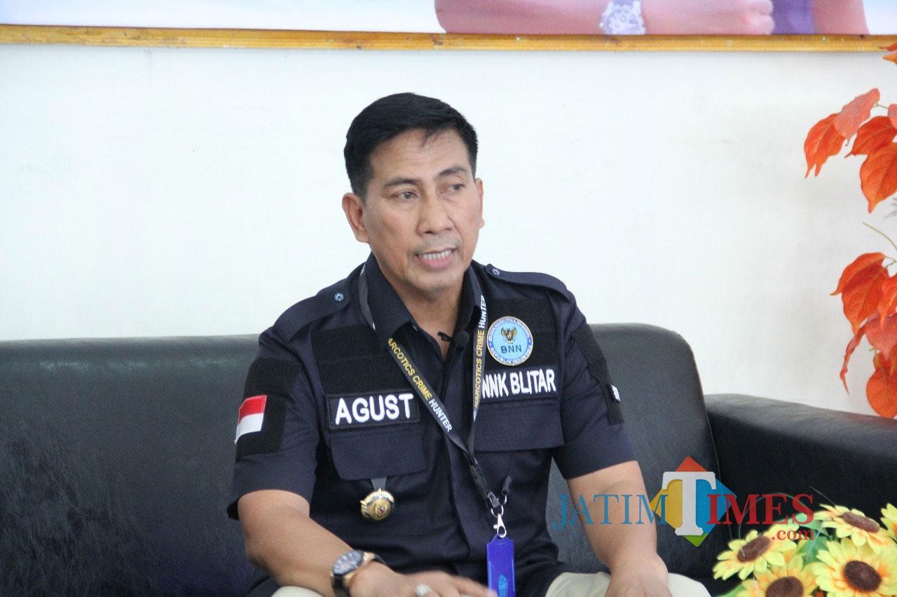 Kepala BNN Kab Blitar, AKBP Agustianto