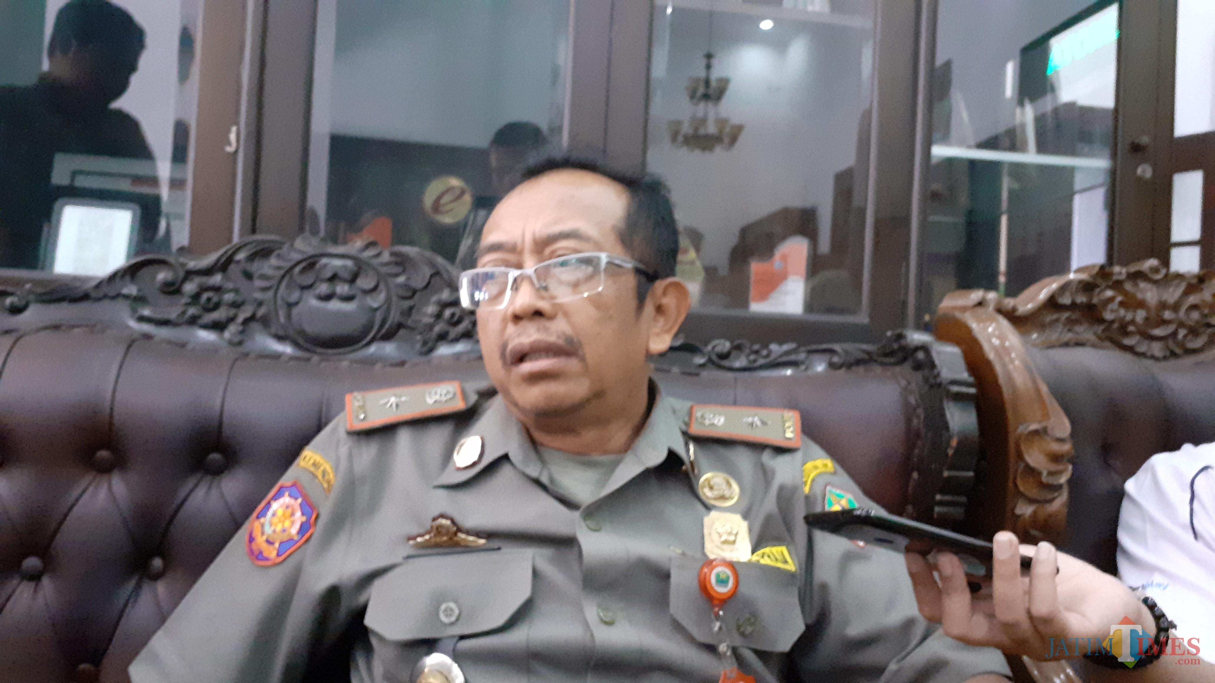 Kepala Satpol PP Kota Malang Priyadi (Pipit Anggraeni/MalangTIMES).