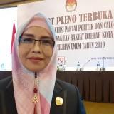 ?Ketua Komisi Pemilihan Umum (KPU) Kota Malang, Aminah Asminingtyas (Pipit Anggraeni/MalangTIMES).